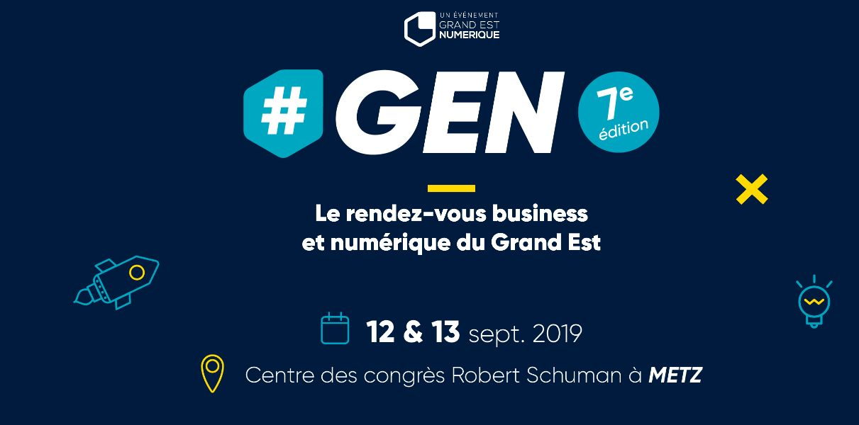 salon business tech GEN à Metz